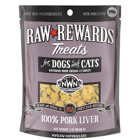 Northwest Naturals Pork Liver Treats 3oz