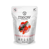 MEOW Freeze Dried Treats - Chicken & King Salmon