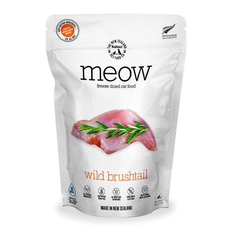 MEOW Freeze Dried Cat Food - Wild Brushtail