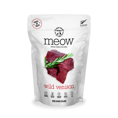 MEOW Freeze Dried Treats - Wild Venison