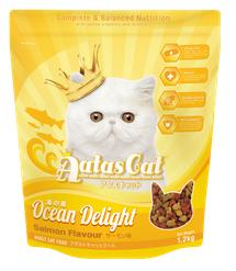 Aatas Cat Ocean Delight Salmon Dry Food 1.2kg