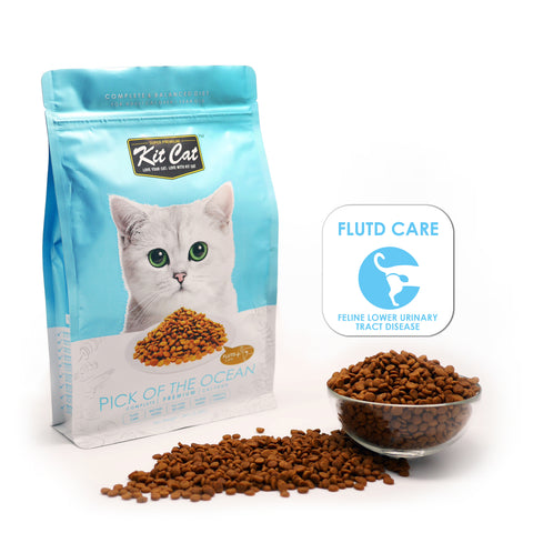 Kit Cat Pick Of The Ocean (Urinary Care) Dry Cat Food (3 Sizes)