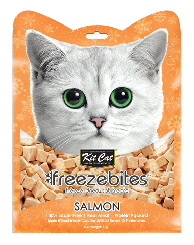 Kit Cat Freeze Bites Cat Treat - Salmon