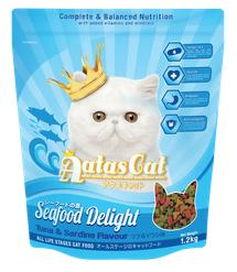 Aatas Cat Seafood Delight Tuna & Sardine Dry Food 1.2kg