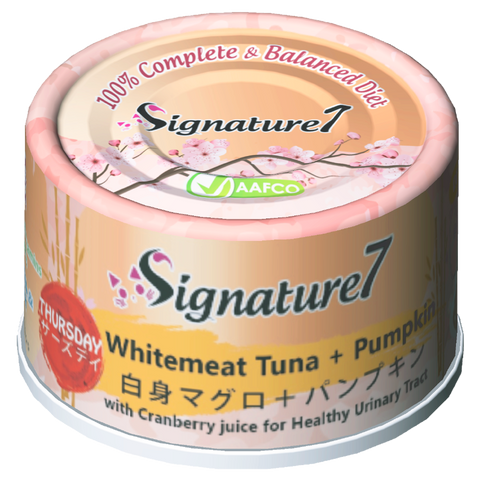 Signature7 Complete & Balanced Thursday ( Whitemeat Tuna + Pumpkin) Wet Food