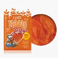 Catit Nibbly Jerky Chicken Treats for Cats 30g