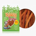Catit Nibbly Jerky Chicken & Fish Treats for Cats 30g
