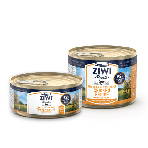 ZIWI Peak Chicken Canned Cat Food (2 SIZES: 85g/185g)