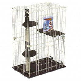 Marukan Cat Friend Room with Tower 2 Storey  ( NEW )