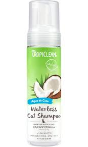 TropiClean Dander Reducing Waterless Cat Shampoo