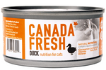 *CARTON DEAL* Canada Fresh Duck Nutrition Cat Wet Food