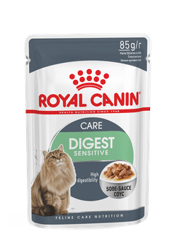 ROYAL CANIN Feline Wet Range Digestive Sensitive Gravy Pouch (12 x 85g)