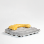 Pidan Nest Moon & Cloud Bed (Grey & Yellow Bed)