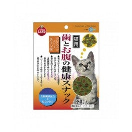 Marukan Crunchy Snack For Cats - Chicken Flavor 80G