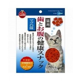 Marukan Crunchy Snack For Cats - Tuna Flavour 80G