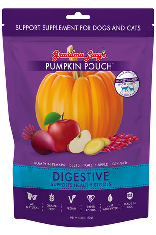 Grandma Lucy's Support Supplement Pumpkin Pouch - Digestive
