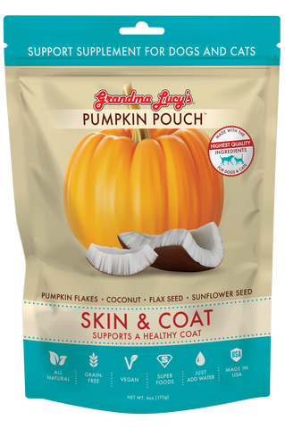 Grandma Lucy's Support Supplement Pumpkin Pouch - Skin & Coat