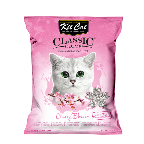Kit Cat Classic Clump Cherry Blossom Cat Litter 7kg