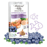 Natural Kitty Creamy Treats SUPERFOOD BLEND - Tuna, Salmon & Blueberry