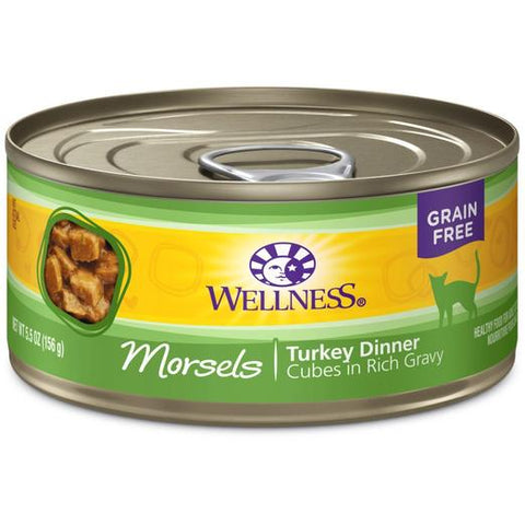 Wellness Complete Health Morsels Turkey Dinner Wet Food