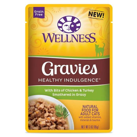 Wellness Complete Healthy Indulgence Gravies Chicken & Turkey Wet Pouch
