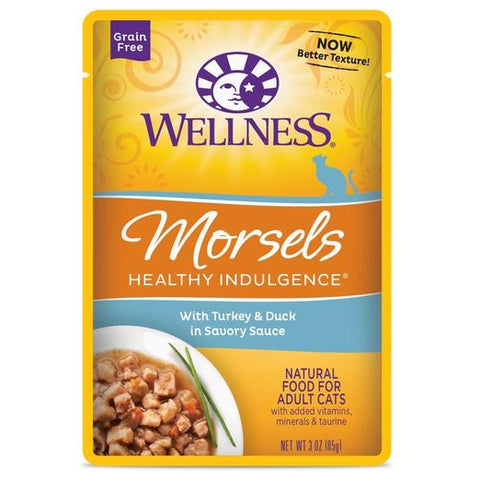 Wellness Complete Healthy Indulgence Morsels Turkey & Duck Wet Pouch