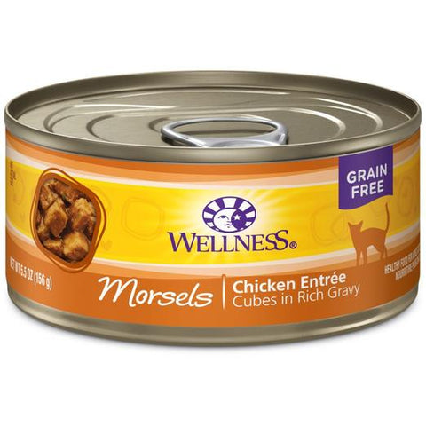 Wellness Complete Health Morsels Chicken Entree Wet Food