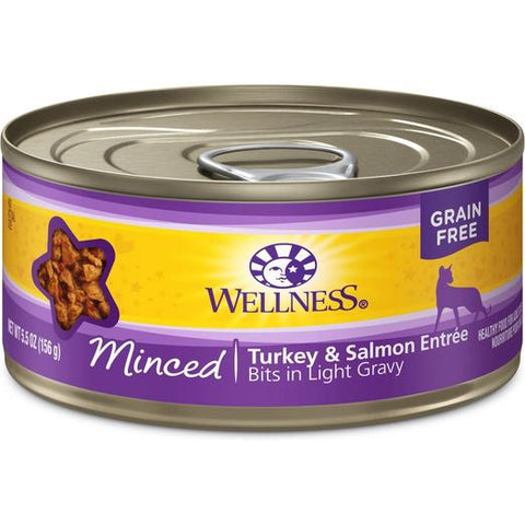 Wellness Complete Health Minced Turkey & Salmon Entree Wet Food