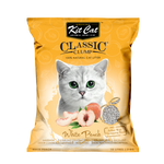 Kit Cat Classic Clump White Peach Cat Litter 7kg