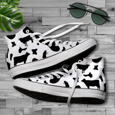 Dairy Cow All-over Canvas Shoes