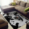 [FREE SHIPPING] Cute Dairy Cow Rug