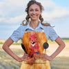 Cute Chicken Face Apron