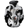 Cute Face Dairy Cow All-over Hoodie