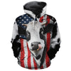 American Dairy Cow All-over Hoodie