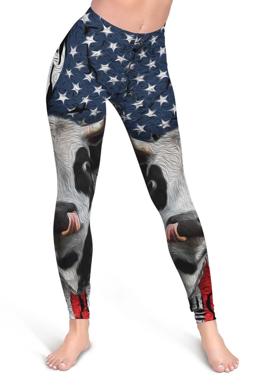 American Dairy Cow Leggings