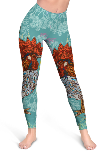 Colorful 2 Chicken Leggings