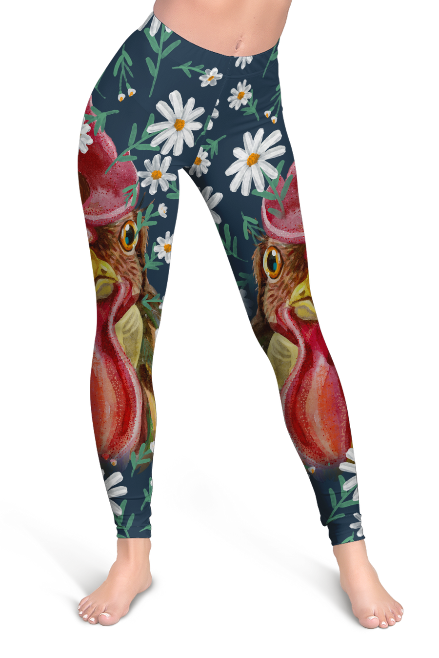 Flower Chicken Leggings