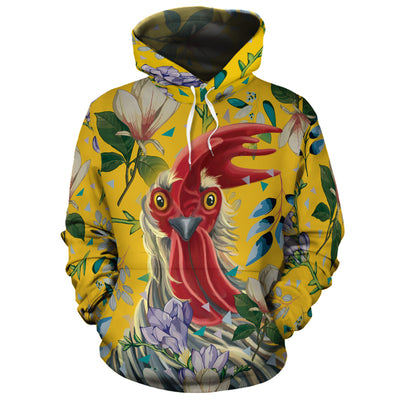 Flower Chicken 2 All-over Hoodie And Leggings Set