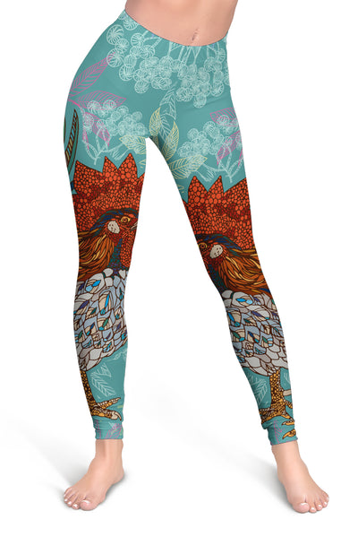Colorful Chicken 2 All-over Hoodie And Leggings Set