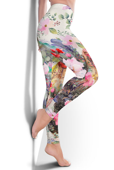 Colorful Chicken Leggings