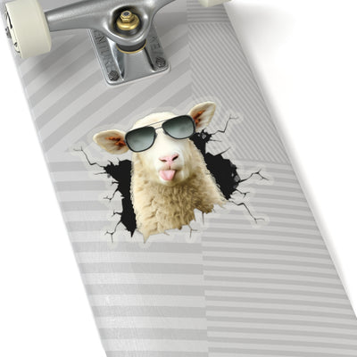 Funny Sheep Sticker