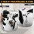 Cute Face Dairy Cow With Tail Laundry Basket