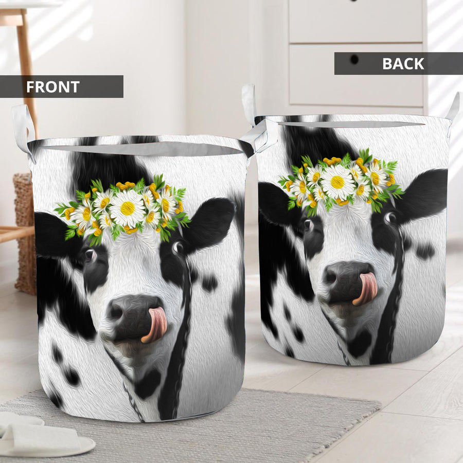 Daisy Dairy Cow Laundry Basket