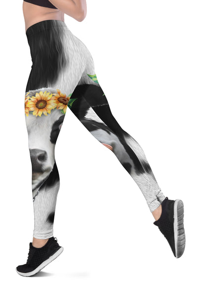 Sunflowers Dairy Cow Legging