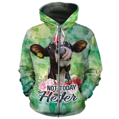 Not Today Heifer All-over Hoodie
