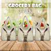 Cute Goat Grocery Bag 3-Pack
