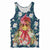 Flower Chicken Tank Top