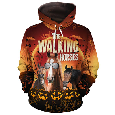 The Walking Horses All-over Hoodie