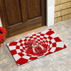Farm Animals Illusion Chicken Doormat