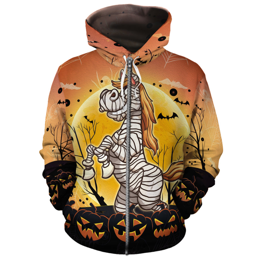 Little Mummy Horse All-over Hoodie